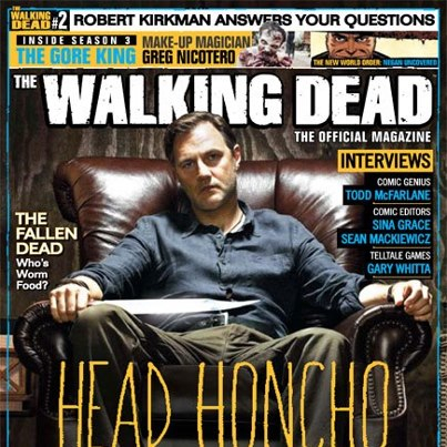 The Walking Dead Mag is Back For Brains